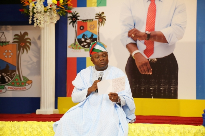 ambode at 2nd town hall meeting
