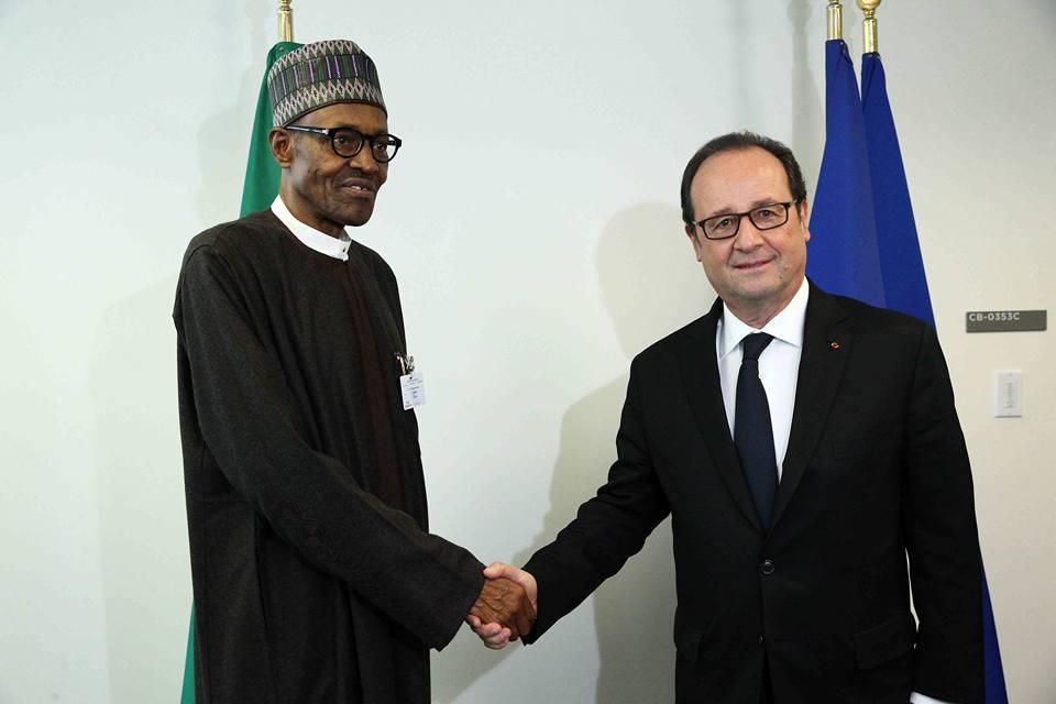 buhari-french-president