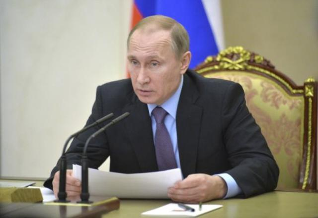 Russian President Putin chairs meeting in Moscow
